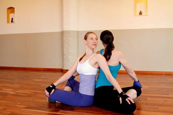 99 best images about Duo yoga on Pinterest   Yoga poses ...