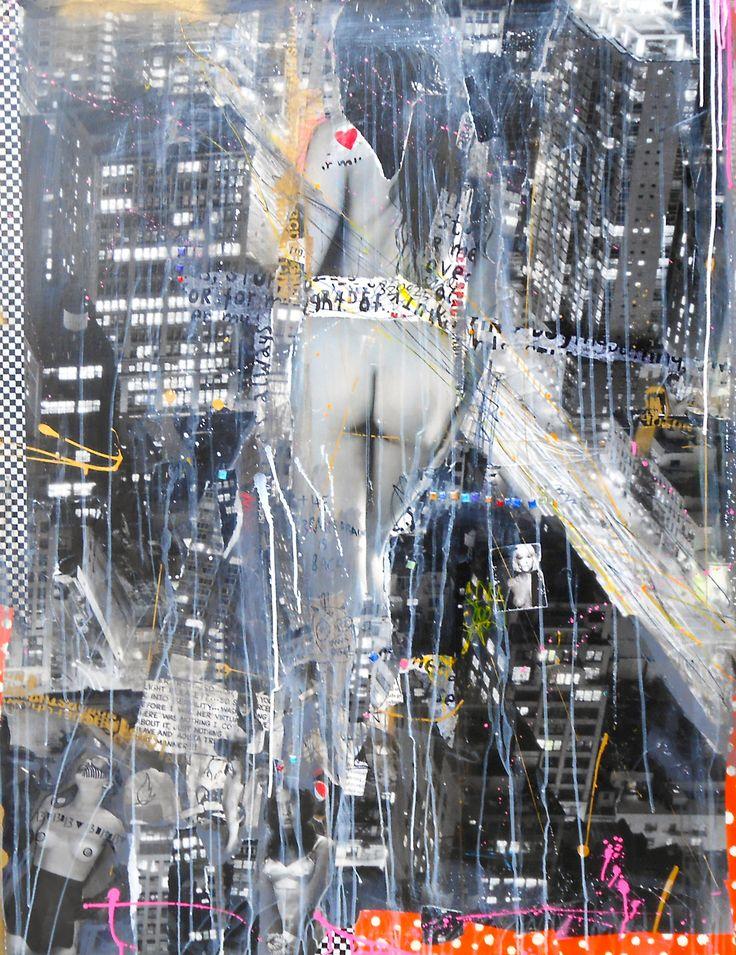 Available @ http://marishagulmann.com/ #art #popart #streetart #body #woman #newyork #decor #paintings #artwork #colors #home #invest #gallery #marishagulmanncom