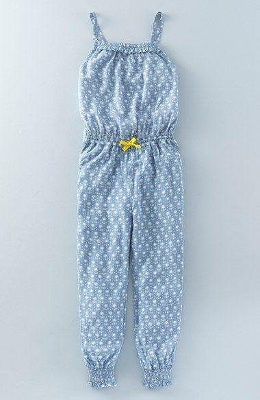 Mini Boden 'Summer' Print Romper (Toddler Girls, Little Girls & Big Girls)