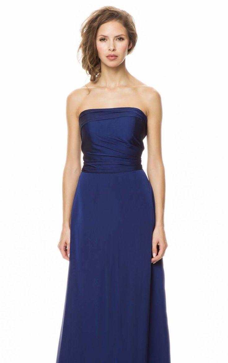 Midnight Strapless A Line Gown by Bari Jay 💟$186.98 from http://www.www.adclassy.com   #gown #midnight #bari #line #weddingdress #bridal #wedding #mywedding #jay #bridalgown #by #strapless