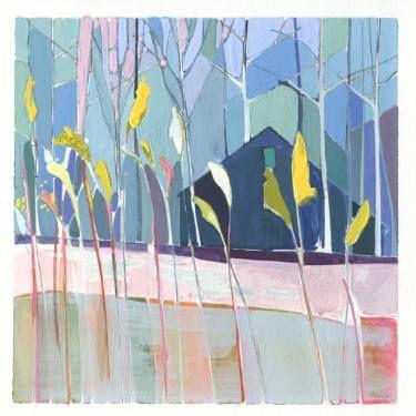 "Saatchi Art Artist Charlotte Evans; Painting, ""flags (framed)"" #art"