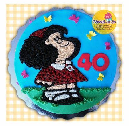 PasteLucas: Mafalda's cake