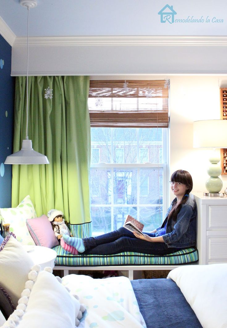 68 best Teen Girl Rooms - Window Seat Options images on ...