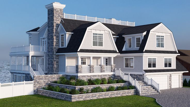 Final Rendering For Bayfront Home Located In Amityville