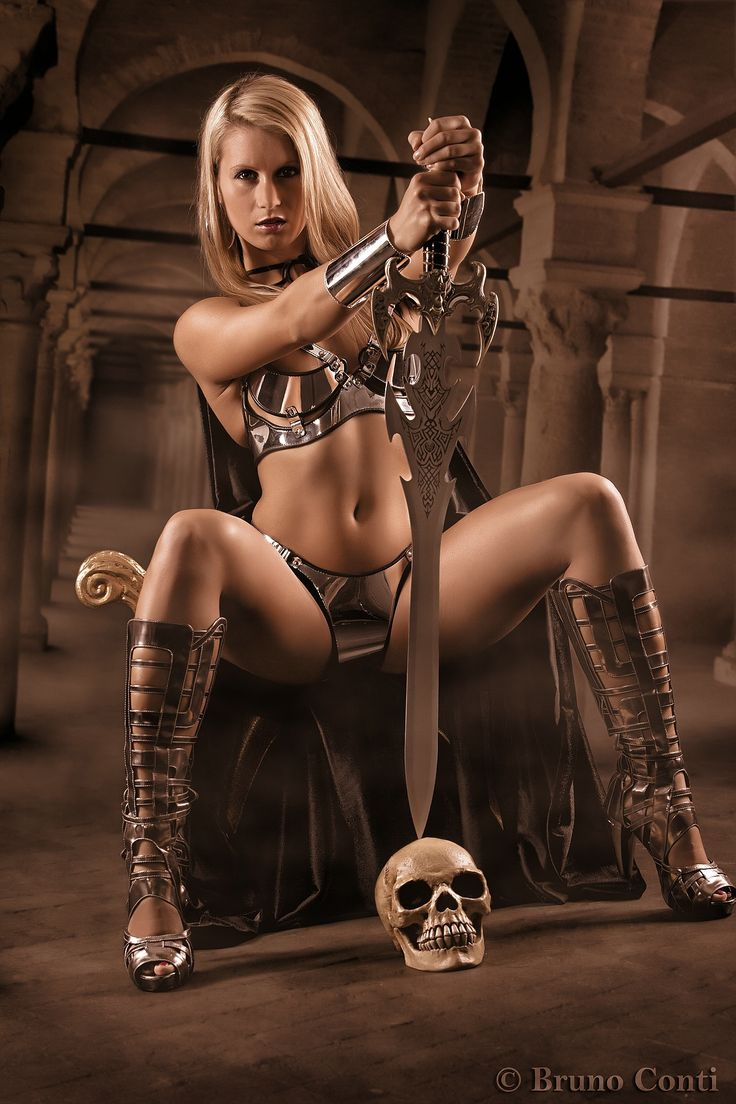 viking warrior woman nude