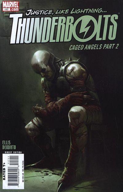 Thunderbolts Vol. 2 # 117 by Marko Djurdjevic