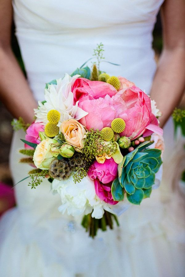 Really pretty colors for a bouquet