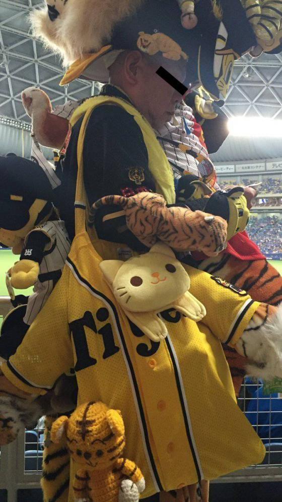 【悲報】カープに大敗した阪神にファンの女の子が号泣してた模様