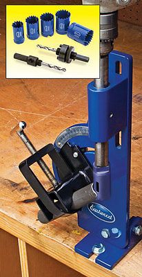 "Eastwood Tube & Pipe Notcher 0-60 Degree Notch up to 2"" Tubing & Hole Saw Kit"