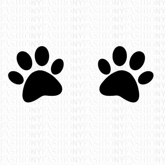 Download SVG, Distressed Dog Paw Svg, Grunge Paw Print Shirt, Dog ...