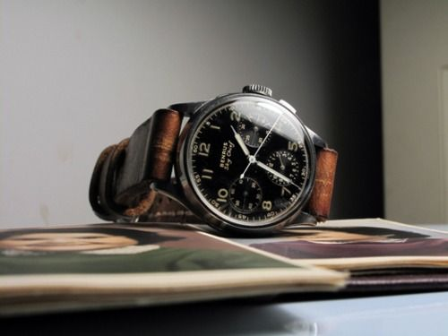 Sky Chief, by the Benrus Watch Co.