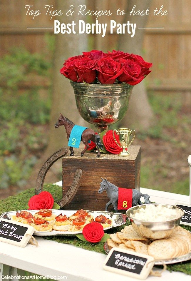 the Best ideas and recipes for hosting a Kentucky Derby party are right here. See them all...