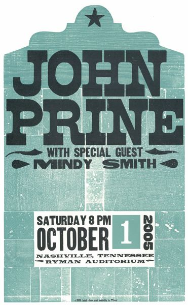 59 Best John Prine Posters Images On Pinterest Concert Posters