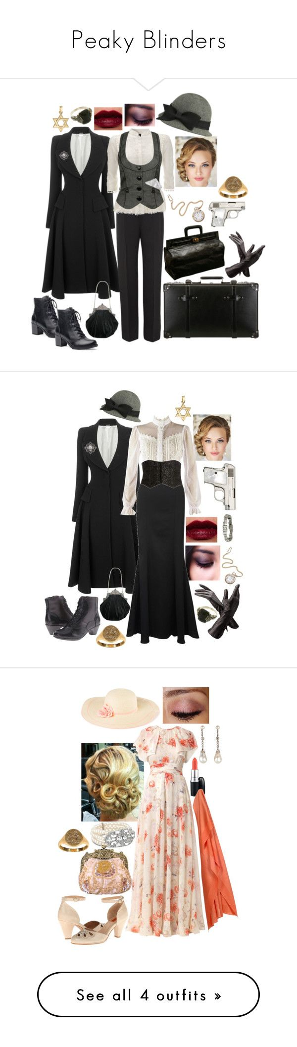 """Peaky Blinders"" by scarletblaze13 ❤ liked on Polyvore featuring Alexander McQueen, Forever 21, Bulova, Giorgio Armani, Globe-Trotter, Dansko, Aspinal of London, women's clothing, women's fashion and women"