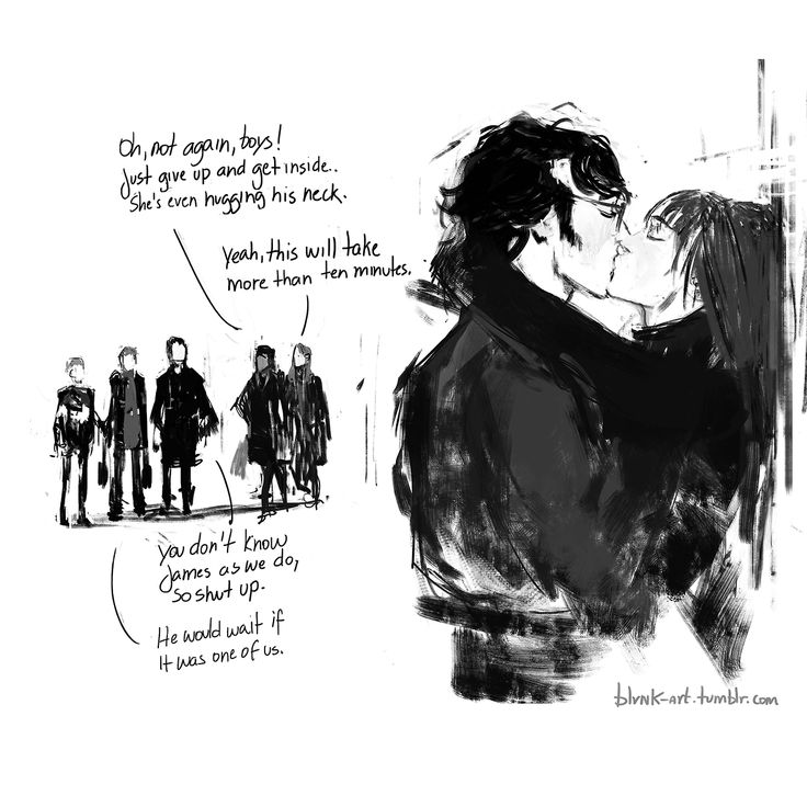 The Marauders and Lily by blvnk