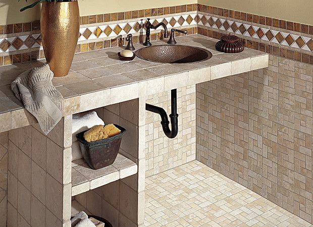 Bathroom Countertop Tile Ideas Part 97