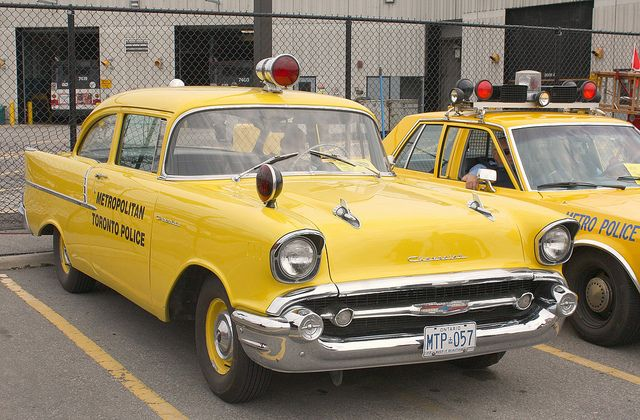 1957 Chevrolet 150 2 door Toronto Police Car...Brought to you by #HouseOfInsurance #EugeneOregon