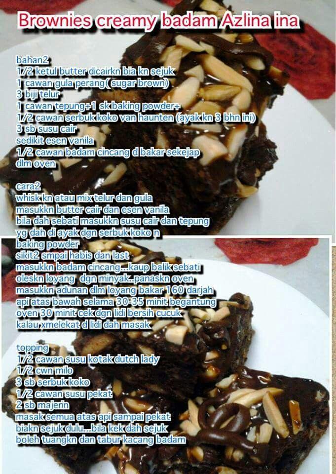 Brownies creamy badam