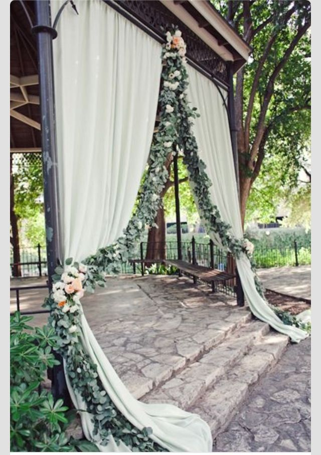 Pretty for outdoor wedding