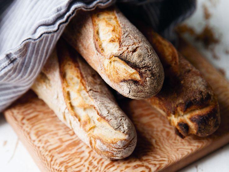 Lantbaguetter | Recept från Köket.se