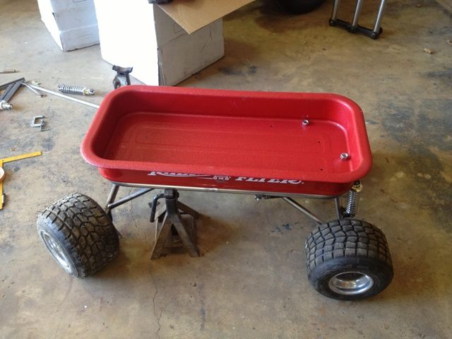 4 Link Radio Flyer Wagon
