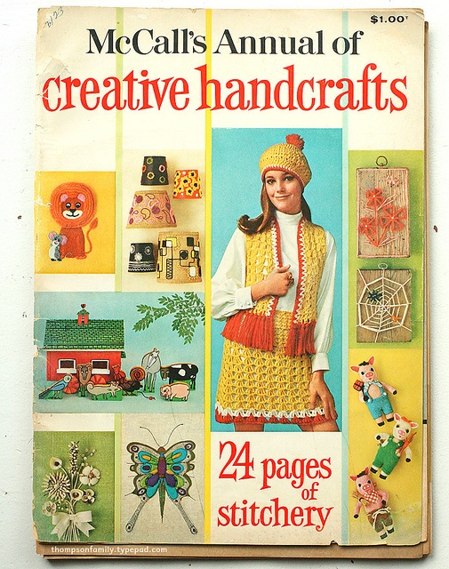 great vintage craft book cover - photo by Danielle Thompson