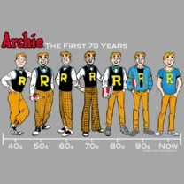 http://www.popfunk.com/mens-tees/archie-comics/archie-comics-archie-timeline.html