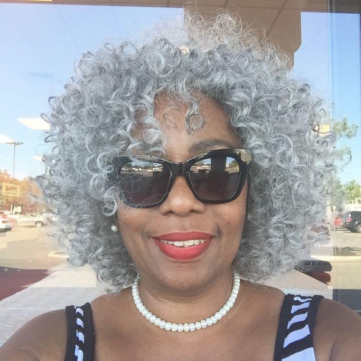 silver gray natural hair