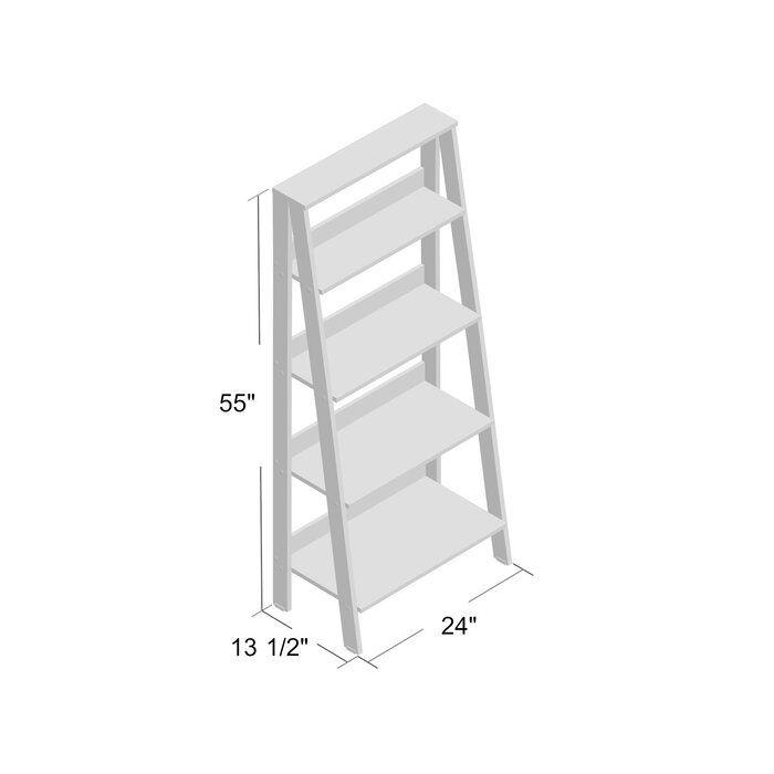 premium selection 3611d ae264 Imogen Ladder Bookcase   <Wayfair & Hayneedle Finds> in 2019 ...