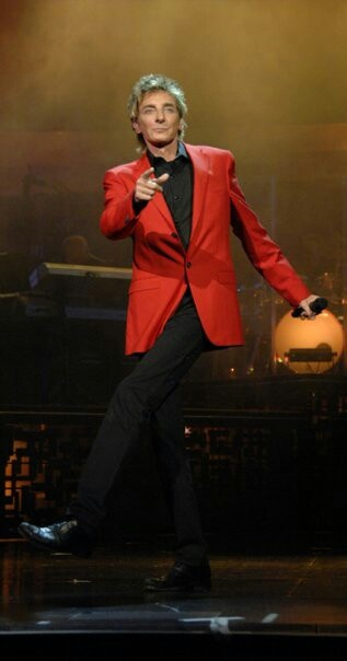 Barry Manilow - I love it when he tries to dance.