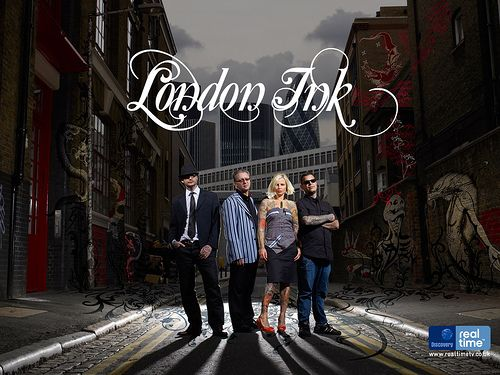 London ink  from Discovery Channel
