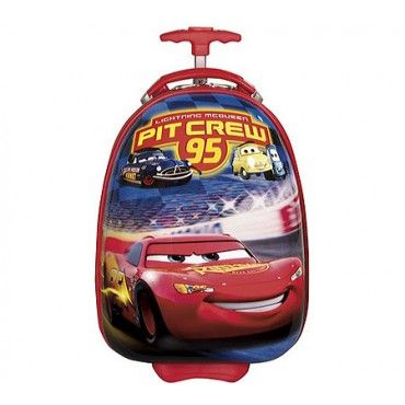 Disney By Heys Luggage 18 Inch Hard Side Carry On Cars Crew Pit 95 Bag One Size