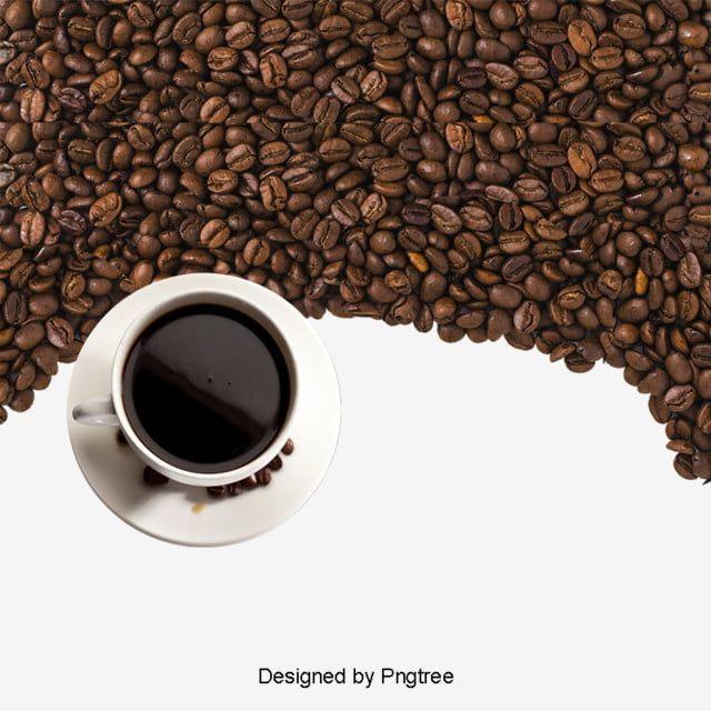 حبوب البن موضوع القهوة إعلانات المقهى بشكل جميل قهوة Png وملف Psd للتحميل مجانا Coffee Beans Gourmet Coffee Beans Coffee Diet