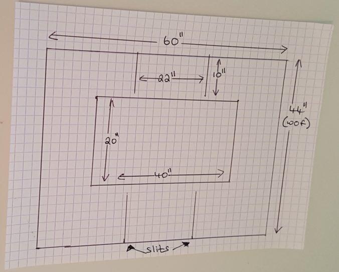 incubator cover measurements
