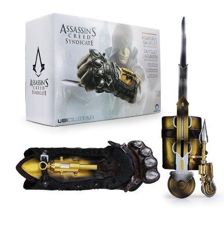 Assassin's Creed Syndicate Gauntlet with Hidden Blade for sale. Get Up to 65% off with our Assassin's Creed Coupon programme.