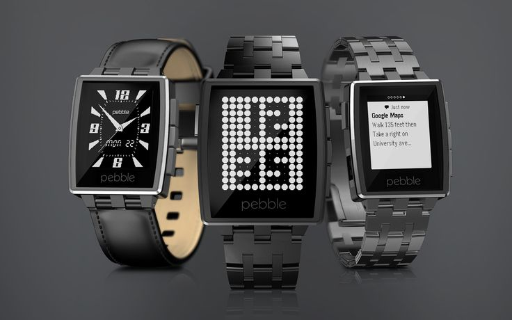 Now might be a good time as ever to get your hands on a Pebble smart watch. They just reduced their prices to compete with Google & Apple