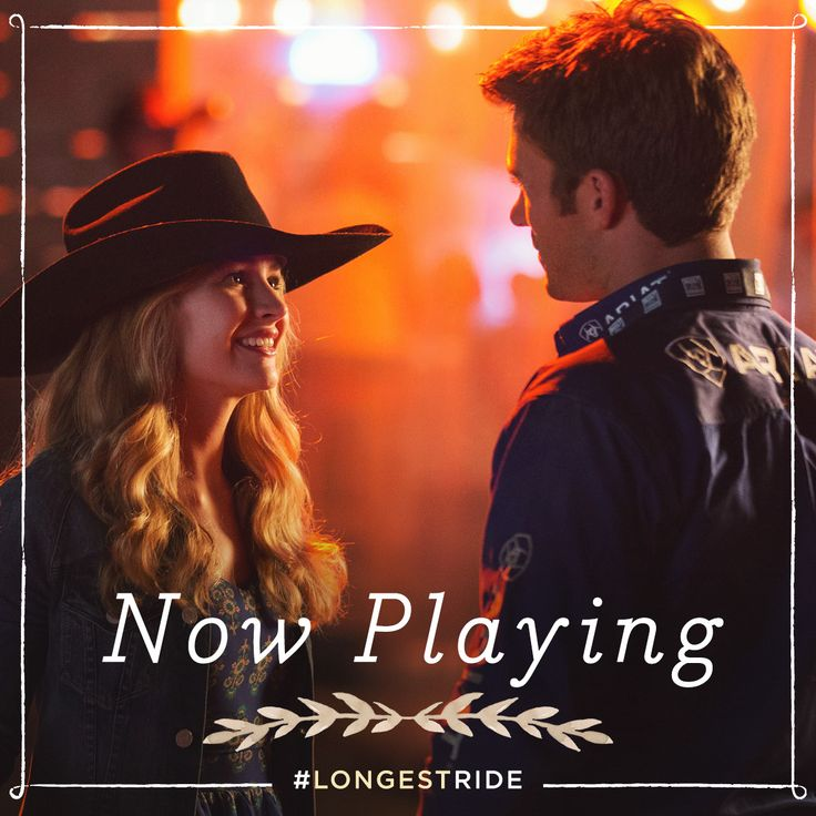 Take a chance on love. See The Longest Ride, now playing in theaters.
