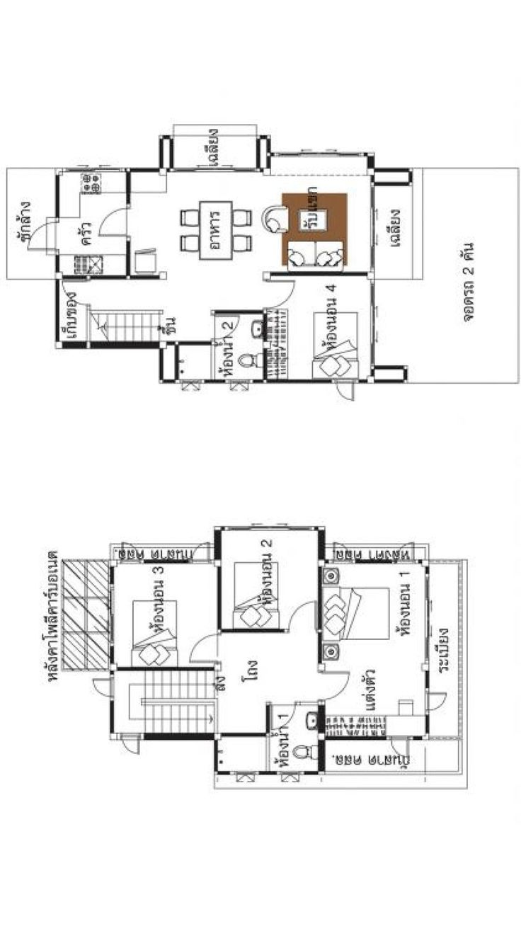 small home plans 6x9m with 4 bedrooms  small house plans