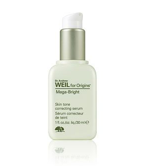 Dr. Weil Mega Bright Serum. I am positively OBSESSED with this product!!! Anyone who has skin discoloration/hyper-pigmentation will definitely see results. It's especially awesome for people of color, the overall brightness and evenness is *****. Worth the $55
