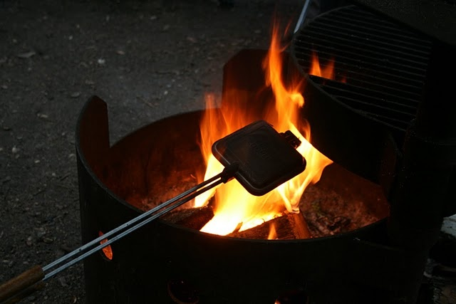 10 Great Camping Recipes & Tips To Get You Through Camping Season...Camping Tips, Camps Seasons, Grilled Cheese, Food Prep, Camps Recipe, Food Tips, Pies Iron Recipe, Camps Tips, Camps Food