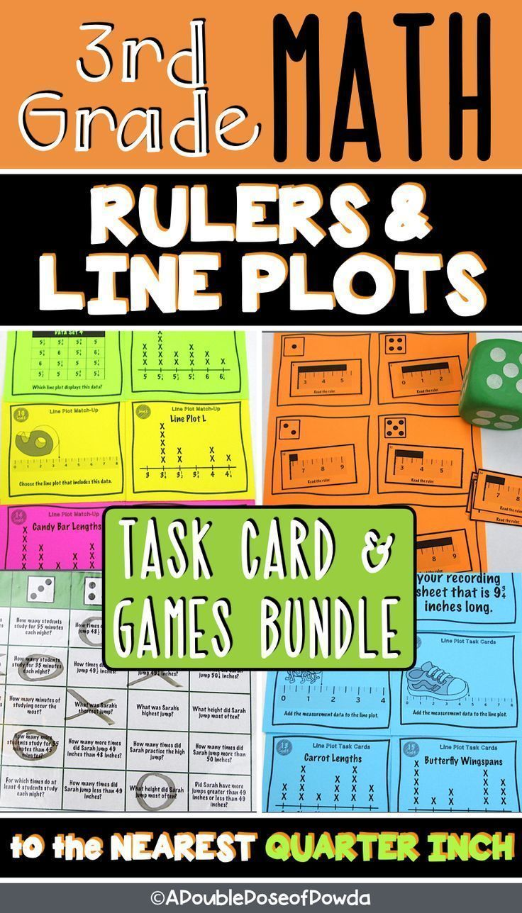 Ruler Line Plots Centers Games Bundle Students Practice Reading Rulers To The Neare Elementary Math Games Elementary Math Centers Elementary Math Classroom [ 1288 x 736 Pixel ]