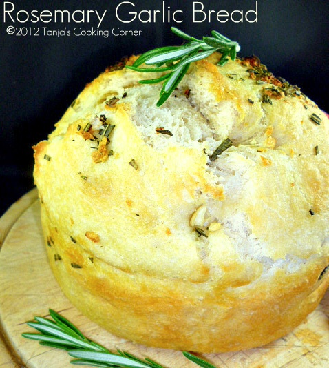 Rosemary Garlic Bread. | Breads, Buns, and Bounty... | Pinterest