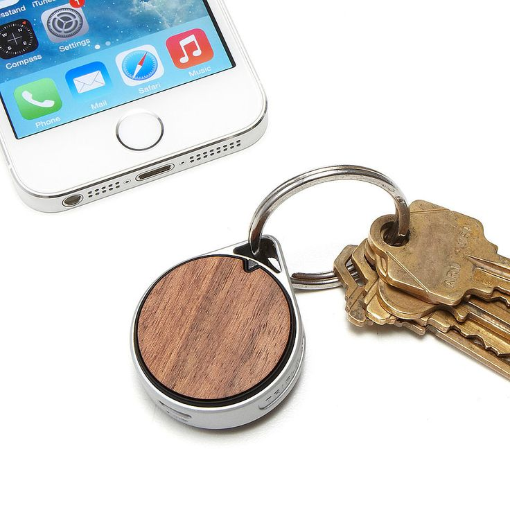 Never lose your keys again with this tracking tag ($40) that pairs with a downloadable app. It'll buzz or beep once prompted. Lost your phone? Touch the tag's alert button, and it'll help you locate your phone, too!
