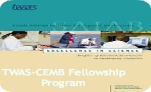 TWAS-CEMB Fellowship Program in Structural, Cell and Molecular Biology in Pakistan , and applications are submitted till 31st August 2014. TWAS and the National Centre of Excellence in Molecular Biology (CEMB) in Lahore, Pakistan are offering fellowship opportunities for developing countries' scholars. - See more at: http://www.scholarshipsbar.com/twas-cemb-fellowship.html#sthash.Cpr38RBF.dpuf