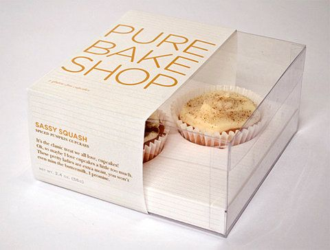 Sweet Bakery Packaging Design Template White Busines Card Papaer