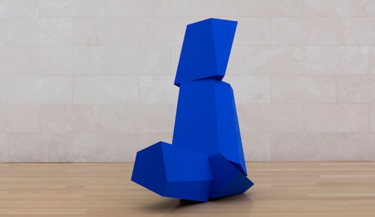 Pace Gallery will be showcasing the irregular, vibrantly coloured work of American sculptor Joel Shapiro