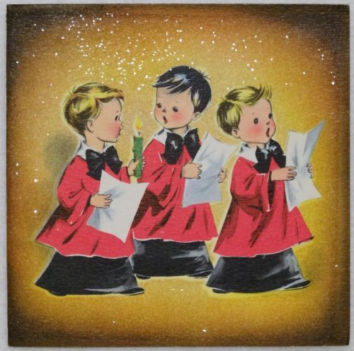 92 Best Chór świąteczny Choir Christmas Images On: 1759 Best Vintage Christmas Greeting Cards Four Images On