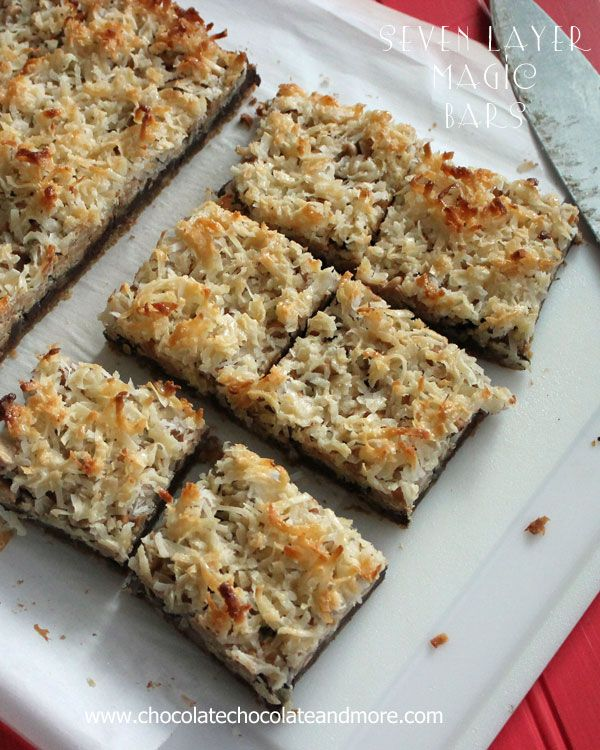 17 Best ideas about Seven Layer Bars on Pinterest | Magic ...