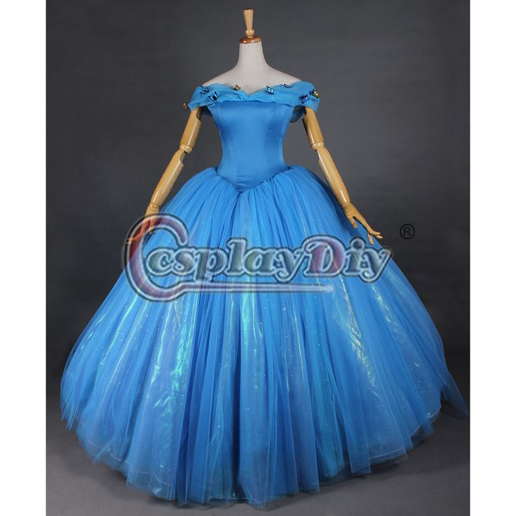 Princess Cinderella Wedding Dress Costume For: 289 Best Images About Cinderella 2015 Movie On Pinterest