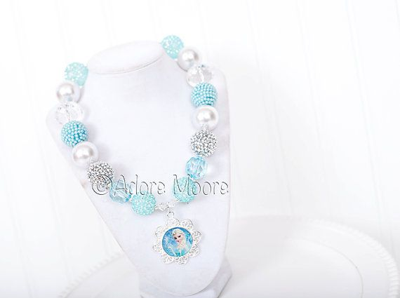 Hey, I found this really awesome Etsy listing at http://www.etsy.com/listing/176490814/princess-elsa-frozen-necklace-disney